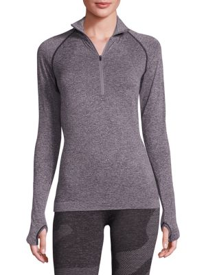 Cross X Seamless Zip Top by HPE