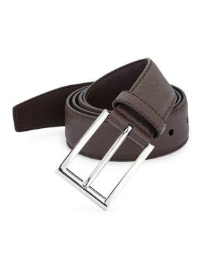 fceafec0e863 Prada - Saffiano Belt - saks.com