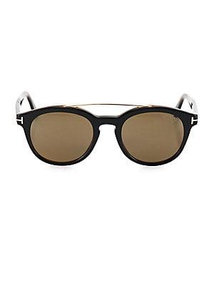 bf89b722593 Tom Ford - Newman 53MM Round Sunglasses. Tom Ford. Newman 53MM Round  Sunglasses.  475.00 · Salvatore Ferragamo ...