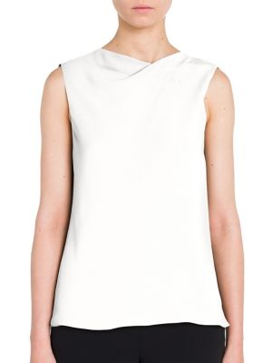 Sleeveless Silk Blouse by Giorgio Armani