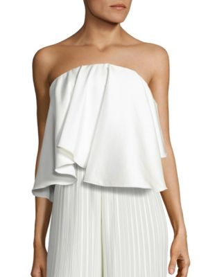 Laurel Strapless Top by Solace London