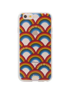 SONIX Love Is Love Rainbow Printed Iphone 7 Plus Case in Clear