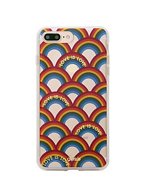 big sale f622e 29ae6 Sonix - Love Is Love Rainbow Printed iPhone 7 Plus Case