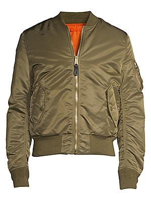 a10a107fa9b Alpha Industries - Nylon Flight Jacket - saks.com