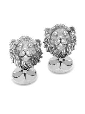 Cufflinks Box Lion Cufflinks with Alfred /& Co