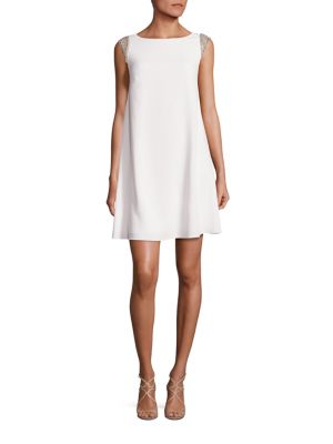 Buy Aidan Mattox Embellished Trapeze Dress online with Australia wide shipping