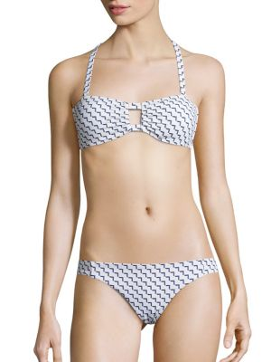 Space Bandeau Bikini Top by Asceno