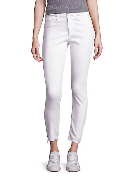 Farah Skinny Ankle High-Rise Jeans