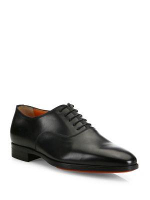 Santoni  Fenwick Leather Oxfords