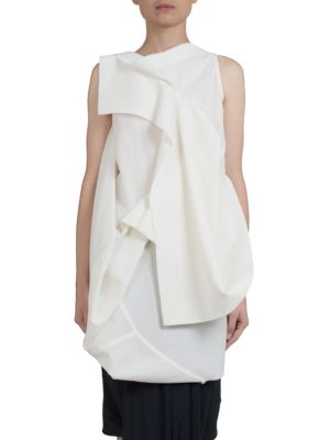 Sleeveless Backless Top by Rick Owens