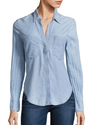 Shoreleave Cotton Chambray Shirt by McGuire