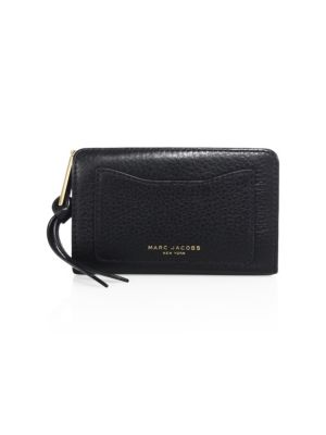 Recruit Leather Wallet in Black