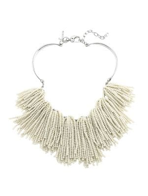 Weeping Willow Beaded Strands Necklace