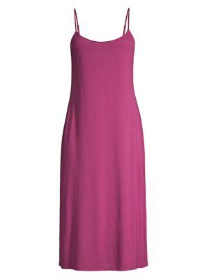 Natori Shangri-la Sleep Gown In Purple