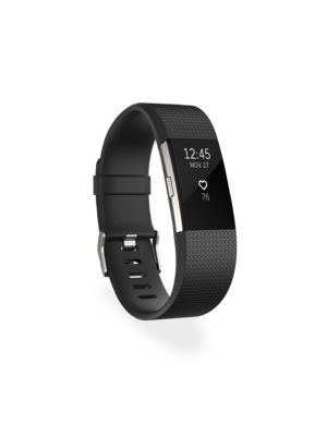 'Charge 2' Wireless Activity & Heart Rate Tracker in Black