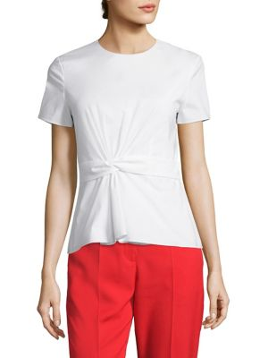 Igiana Poplin Top by BOSS
