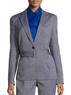 Jalesa Virgin Wool Jacket by BOSS