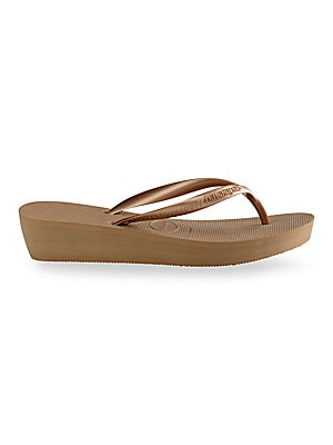 98056ad62294 Havaianas - High Light Wedge Flip-Flops - saks.com