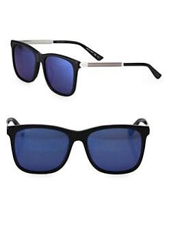 93ecda0b00 Gucci. 56MM Square Sunglasses
