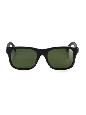 53 Mm Square Sunglasses by Gucci