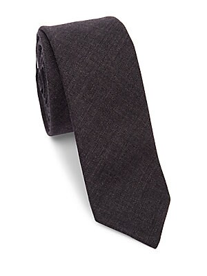 bc75308cacae Thom Browne - Classic Textured Wool Tie - saks.com