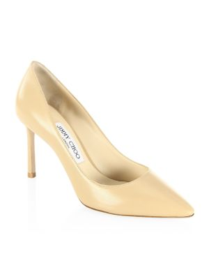 arrives aliexpress excellent quality Jimmy Choo - Romy Leather Pumps - saks.com