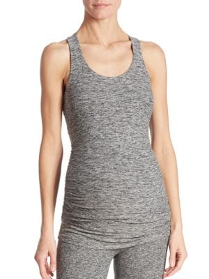 Maternity Long Racerback Tank Top by Beyond Yoga