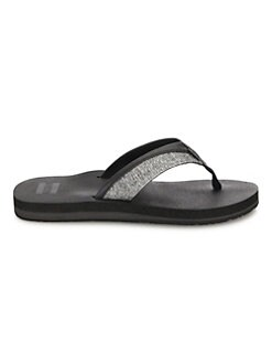 71614012b Toms. Santiago Cotton-Blend Flip-Flops