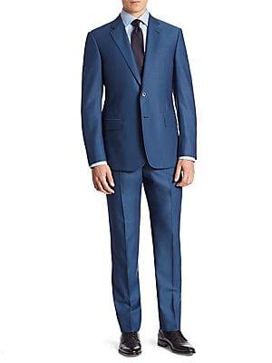 e3e764c8 Armani Collezioni - Wool Suit - saks.com