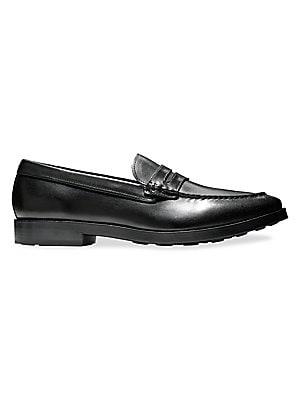 a7ec68985f9 Cole Haan - Dress Revolution Hamilton Grand Leather Penny Loafers - saks.com