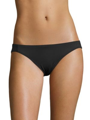 MALIA MILLS Low Rider Bikini Bottom in Black