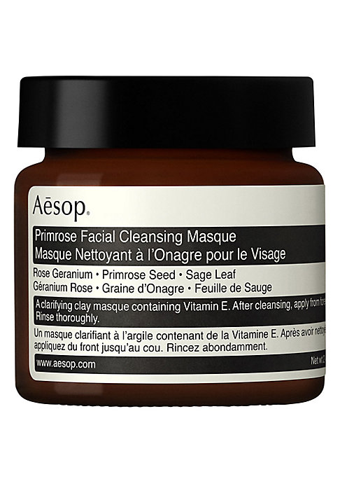 Image of A cleansing masque containing anti-oxidants, suited to most skin types. This clarifying clay formulation decongests and refreshes skin while delivering optimal hydration. Its inclusion of Vitamin E ensures skin isn't left stripped of moisture. Ideal for o