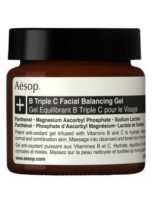 AESOP B Triple C Facial Balancing Gel/2 Oz.