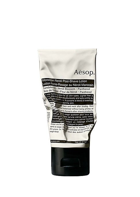 Image of A lightweight hydrating formula to balance and calm all skin types. This rapidly absorbing moisturizer contains carefully selected botanical oils to pacify, smooth and refresh skin and assuage post-shave irritation and aggravation. Perfectly suited for da