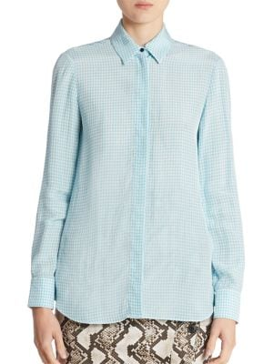 Chika Gingham Shirt by Altuzarra