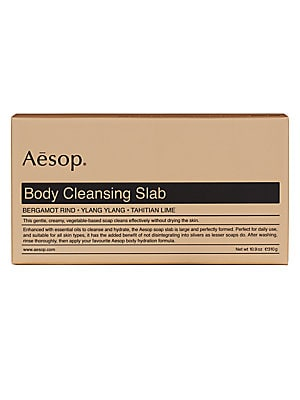 Image of Aesop Body Cleansing Slab. For sale at Saks Fifth Avenue department store.
