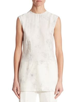 Sleeveless Faded Blouse by Calvin Klein Collection