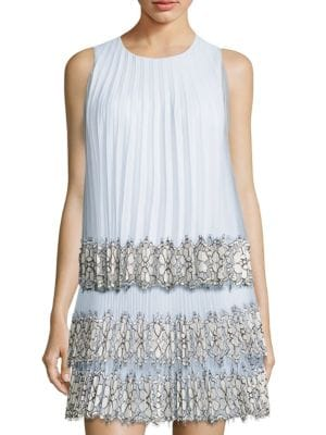 Sleeveless Pleated Top by Christopher Kane