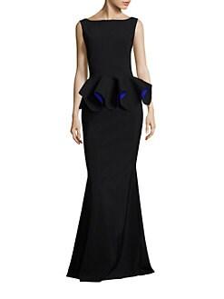 La petite robe peplum dress