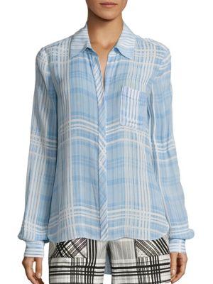 Carter Plaid Shirt by Diane von Furstenberg
