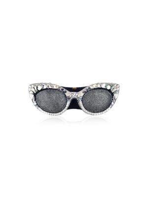 Judith Leiber Eyeglasses Crystal Clutch