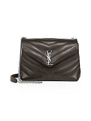 Saint Laurent - Saint Laurent Medium Lou Lou Leather Shoulder Bag ... ba01010c88