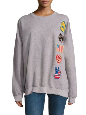 Give Peace a Chance Patch Sweatshirt by MADEWORN