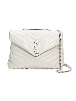 5b66e088094 Saint Laurent - Medium Loulou Matelassé Leather Shoulder Bag - saks.com