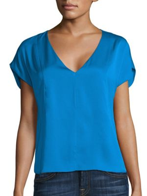 Seamed Dolman Sleeve Top by MILLY