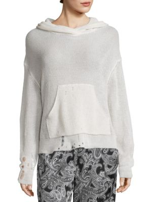 Amelie Hooded Pullover by Acne Studios