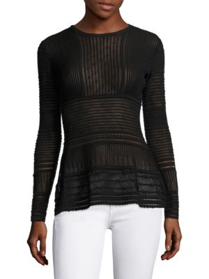 Pointelle Knit Top by M Missoni