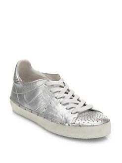 Rebecca Minkoff Metallic Leather Sneakers visa payment for sale discount best sale eYvrUGqb3j