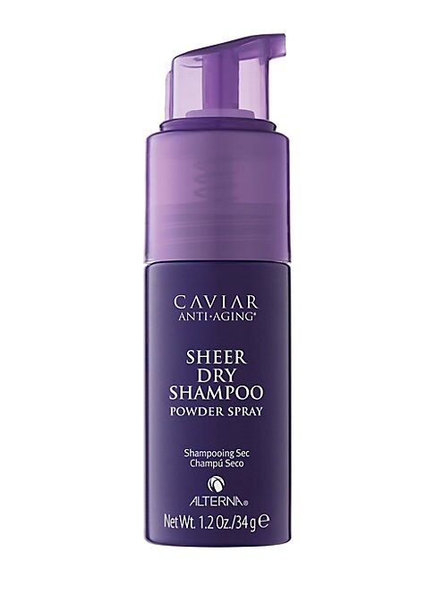 Image of A talc-free Dry Shampoo to refresh hair between washings. Extend your blowout and instantly refresh hair between washing with this talc-free, anti-aging dry shampoo formulated to gently absorb excess oil, product build-up and impurities. This formula reen