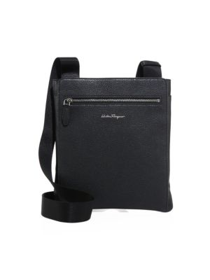 SALVATORE FERRAGAMO Float   Crossbody Bag, Black